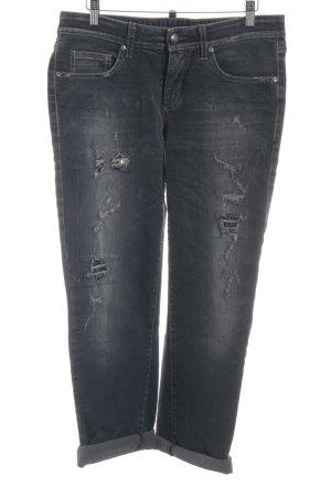 Cambio Jeans Boyfriendjeans dunkelgrau Boyfriend-Look