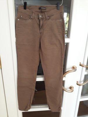 Cambio 3/4-jeans bruin