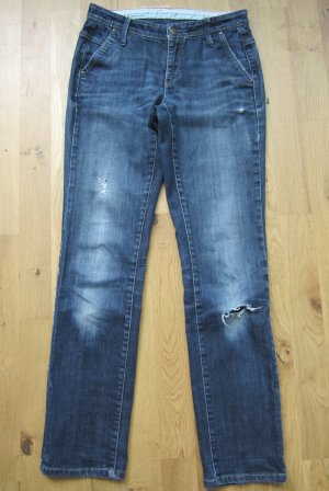 Cambio Jeans Chino Gr. 34-36 Destroyed-Look