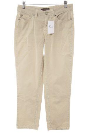 Cambio Jeans Pantalone chino beige stile casual