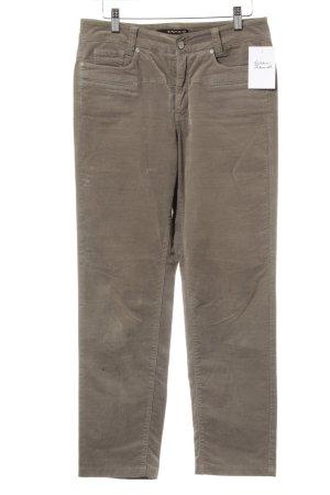 Cambio Jeans Pantalone di velluto a coste color cammello stile casual