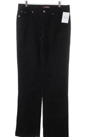 Cambio Jeans Corduroy broek zwart casual uitstraling
