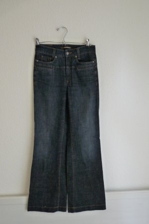 Cambio Jeans Denim Schlaghose 70's Style XS 34 *NEU* dunkelblau Fashion Blogger Streetwear Urbanstyle