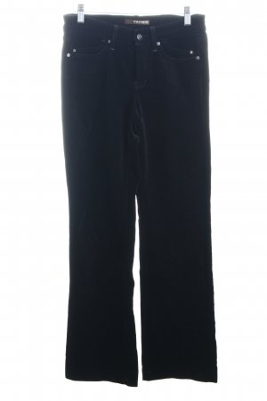Cambio Jeans Five-Pocket-Hose schwarz Eleganz-Look