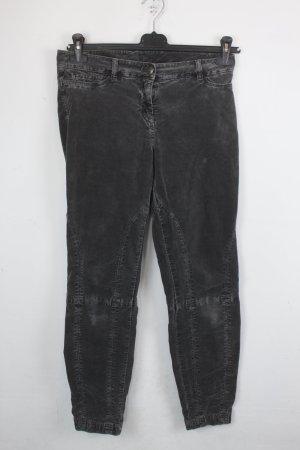 Cambio Jeans Jeans de moto gris anthracite coton