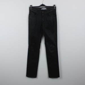 Cambio Jeans Gr. 38 schwarz in Glanzoptik (18/10/302)