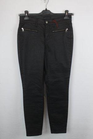 Cambio Jeans Gr. 38 schwarz Modell: Philia Zip NEU