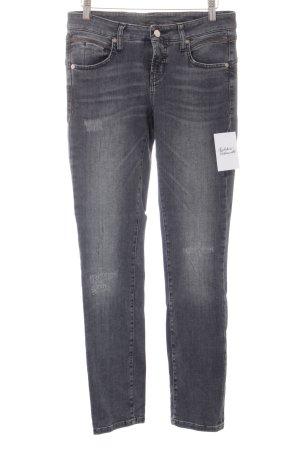 Cambio Jeans grau Jeans-Optik
