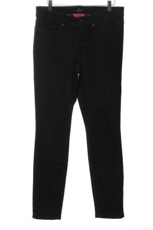 Cambio Jeans Hoge taille jeans zwart zakelijke stijl