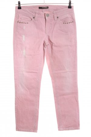 Cambio Jeans Hüftjeans pink Casual-Look