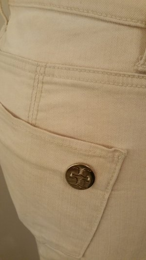 Cambio Jeans in Gr. 36 - sandfarben im used washed Look