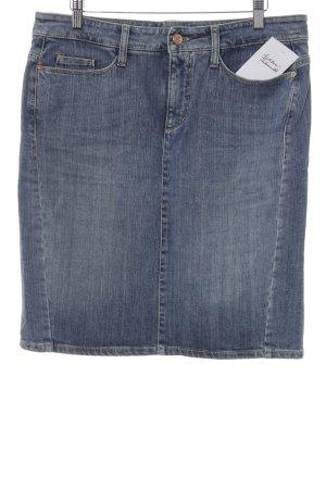 Cambio Jeans Spijkerrok staalblauw Jeans-look
