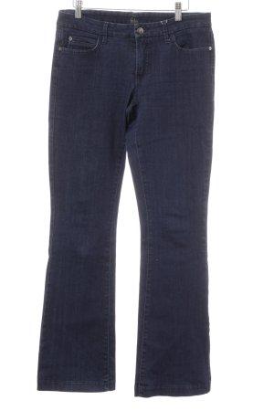 Cambio Jeans Jeans a zampa d'elefante blu scuro stile casual