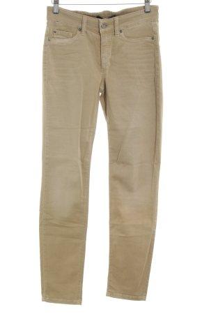 Cambio Jeans Röhrenhose creme Casual-Look