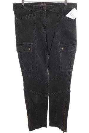 Cambio Jeans Tube jeans zwart straat-mode uitstraling