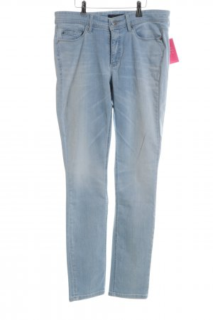 Cambio Jeans Skinny Jeans blau Casual-Look