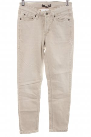 Cambio Jeans Skinny Jeans beige Casual-Look