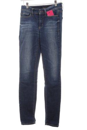 Cambio Jeans Skinny Jeans dunkelblau schlichter Stil