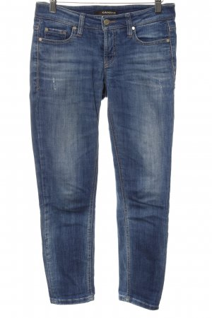 Cambio Jeans Skinny Jeans stahlblau Casual-Look