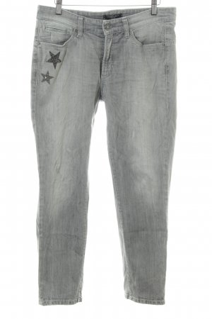 Cambio Jeans Slim Jeans hellgrau Casual-Look