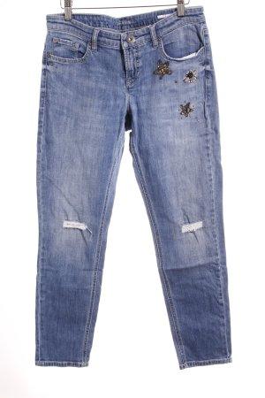 Cambio Jeans Jeans slim fit blu modello misto stile casual