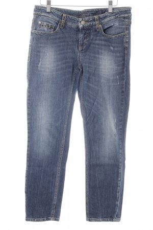 Cambio Jeans Slim Jeans blue washed look