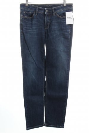 Cambio Jeans Slim Jeans dunkelblau Casual-Look