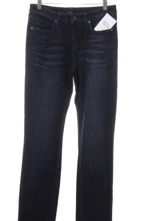 Cambio Jeans Slim Jeans dunkelblau Casual-Look