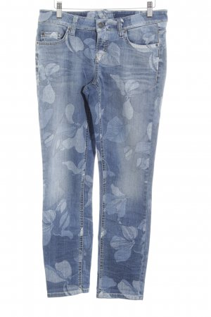 Cambio Jeans Jeans slim motif floral style extravagant