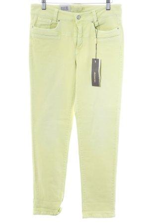 Cambio Jeans Slim Jeans grasgrün Casual-Look