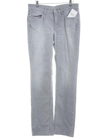 Cambio Jeans Vaquero slim gris claro look casual