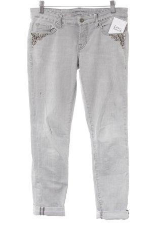 Cambio Jeans Slim Jeans hellgrau Destroy-Optik