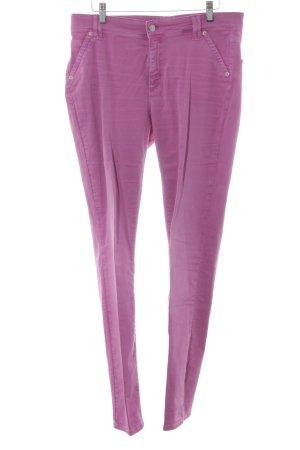 Cambio Jeans Vaquero slim rosa-rosa look casual
