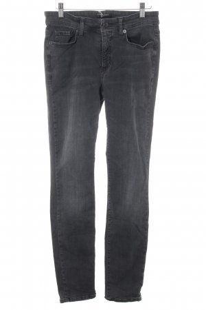 Cambio Jeans Slim Jeans schwarz-dunkelgrau Casual-Look