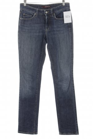 Cambio Jeans Slim Jeans stahlblau Casual-Look