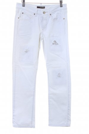 Cambio Jeans Slim Jeans wollweiß Casual-Look