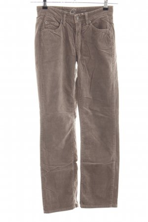Cambio Jeans Stoffhose braun Casual-Look