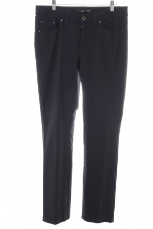 Cambio Jeans Stoffhose schwarz Business-Look