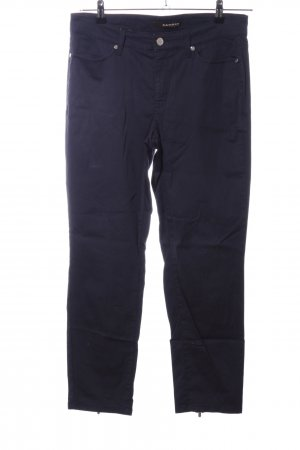 Cambio Jeans Stoffhose blau Casual-Look