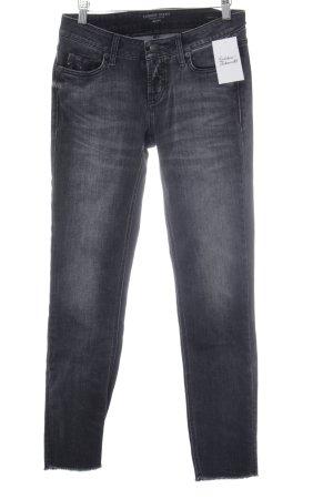 Cambio Jeans Jeans coupe-droite gris anthracite style décontracté