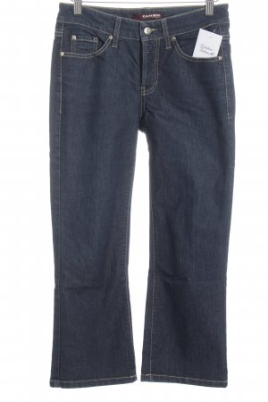 Cambio Jeans Straight-Leg Jeans dunkelblau Casual-Look