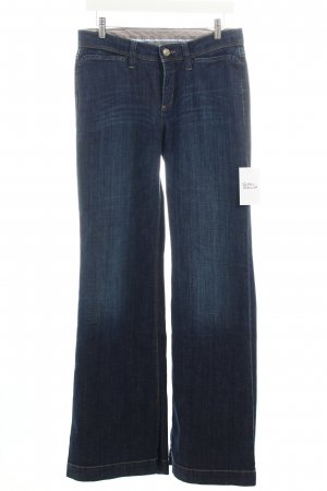 Cambio Jeans Straight-Leg Jeans dunkelblau Casual-Look