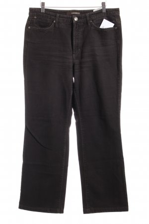 Cambio Jeans Straight-Leg Jeans dunkelbraun Casual-Look