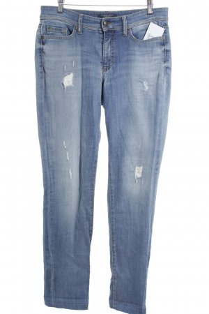 Cambio Jeans Straight-Leg Jeans mehrfarbig Casual-Look