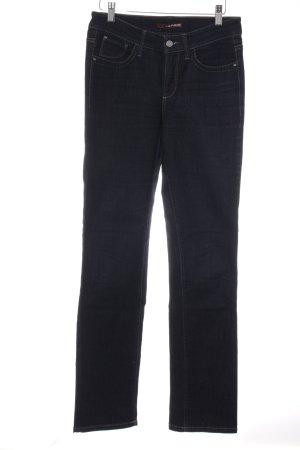 "Cambio Jeans Straight-Leg Jeans ""Neele"" dunkelblau"