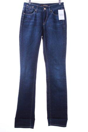 "Cambio Jeans Straight-Leg Jeans ""Peaches"" dunkelblau"