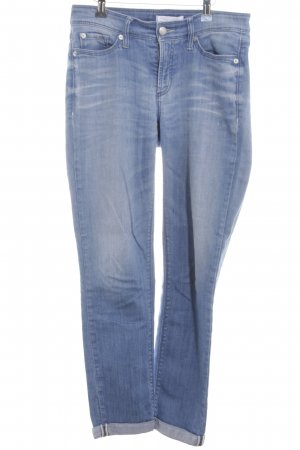 Cambio Jeans Stretch Jeans blau Casual-Look