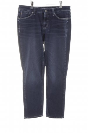 Cambio Jeans Stretchhose blau Casual-Look
