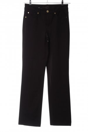 Cambio Jeans Stretch broek zwart casual uitstraling