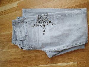 Cambio Jeans Stretch jeans lichtgrijs